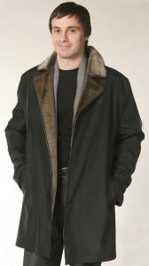 Мужская зимняя длинная куртка для мужчины