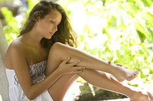 Лёгкий загар поможет скрыть несовершенства вашей кожи