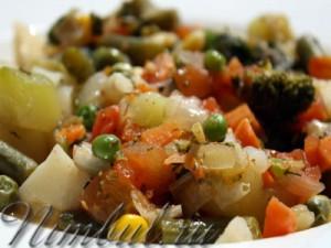 Овощное рагу | Овощное рагу готовится очень просто