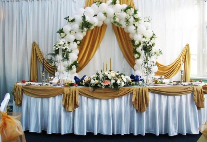Как из шаров сделать свадебную арку своими руками 6